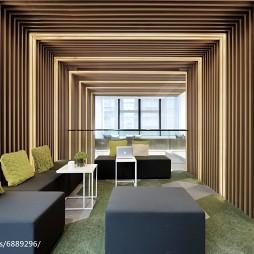 办公楼办公空间装修效果图