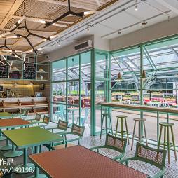 工装餐厅整体室内装修案例