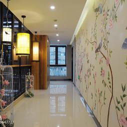中式古典风格过道设计