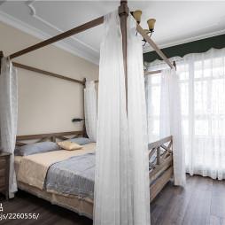 浪漫美式风格卧室装修