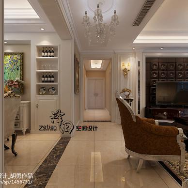 蓝鼎星河府 143㎡ 欧式设计案例_2360134