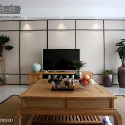 典雅中式風格客廳裝修