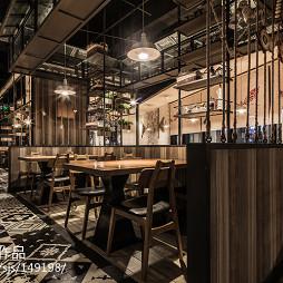水饺餐厅过道设计案例