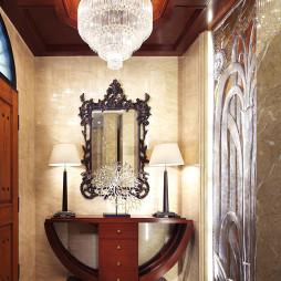 古典美式别墅玄关装修