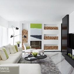简约风格别墅客厅设计