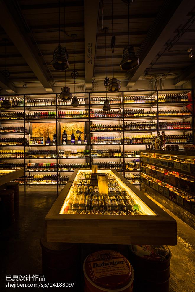 啤酒超市商品架设计