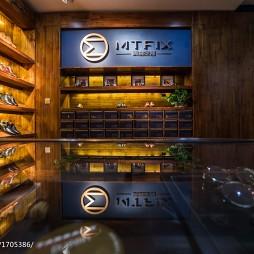 鞋店展示区设计
