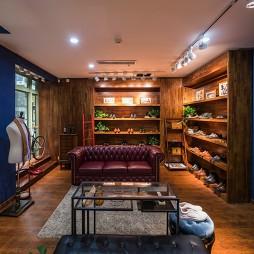 工装时尚鞋店设室内计