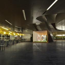 工装商场大厅设计效果图