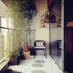 家居中式样板房阳台装修