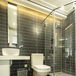 简约中式风格卫浴装修