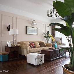 简约美式风格客厅装修