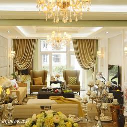 温馨欧式风格客厅装修案例