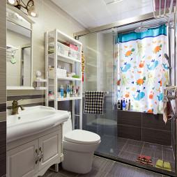 美式风格卫浴装修