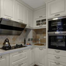 家装简约美式风格厨房装修