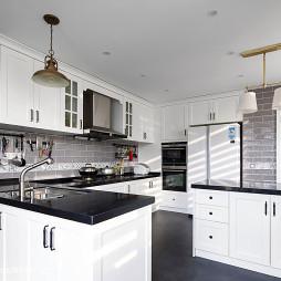 现代美式风格厨房装修