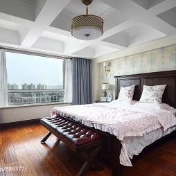 简约美式风格卧室设计