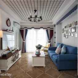地中海风格客厅装饰图