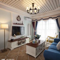 温馨地中海风格客厅设计