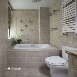 现代美式风格卫浴设计