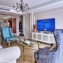 家装美式风格客厅设计
