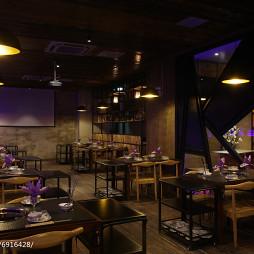 餐厅创意就餐区装修
