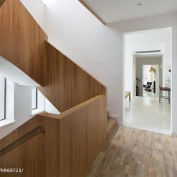 北欧风格样板房楼梯设计