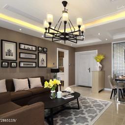 现代格调客厅装饰图
