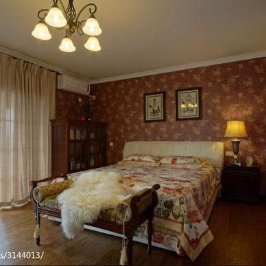 典雅地中海风格卧室装修