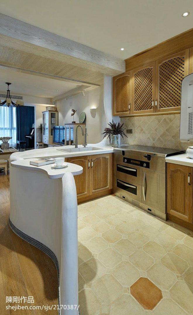 家居地中海格调厨房设计图