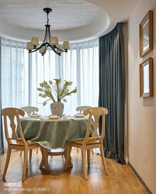 家居地中海格调餐厅设计图