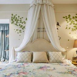 家居地中海格调卧室效果图