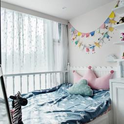 家装美式风格儿童房布置