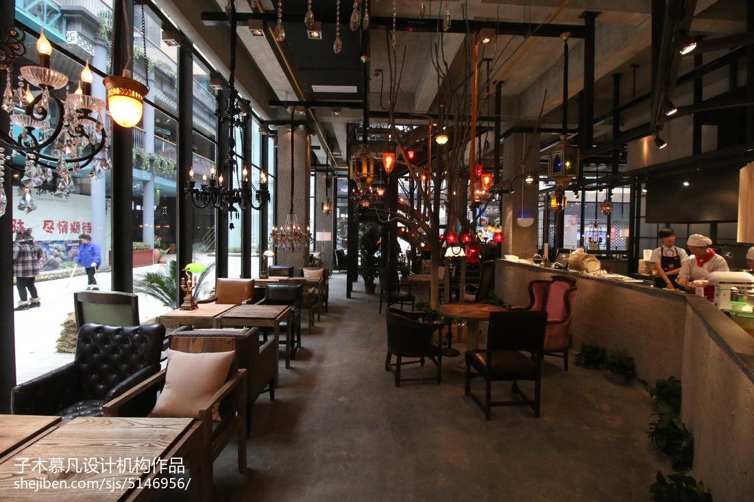 酒店大厅_特色咖啡厅装饰图 – 设计本装修效果图
