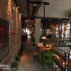 咖啡店过道设计