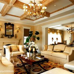 家居欧式风情客厅设计图