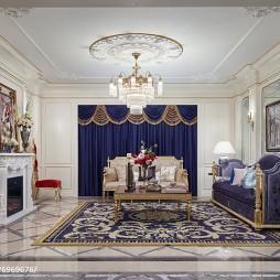 时尚家居欧式客厅装修图