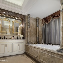 时尚家居欧式卫浴装修图