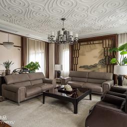 家居中式风格客厅设计