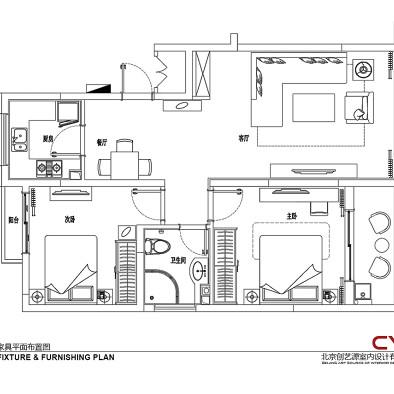 81平米的现代优雅之家