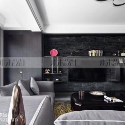 现代风格电视背景墙装修