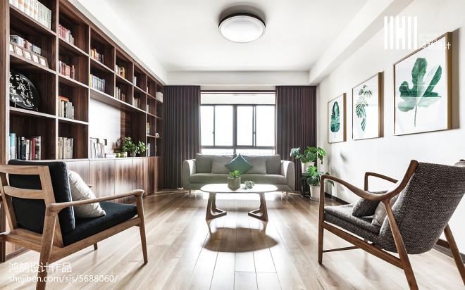 日式风格书房装修案例