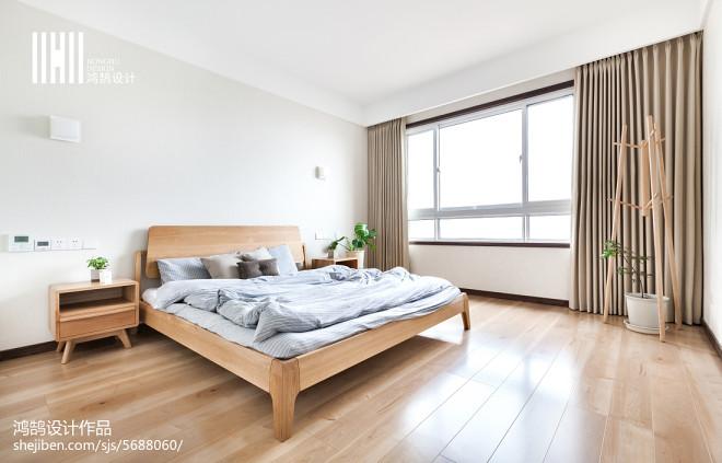 清新日式风格卧室设计