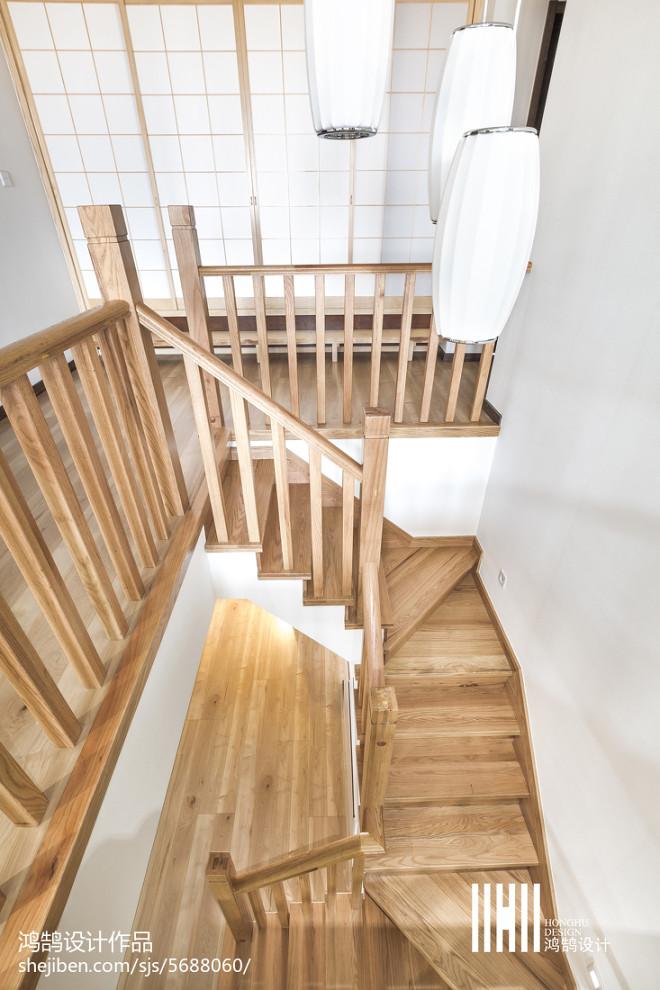 日式风格复式楼梯设计