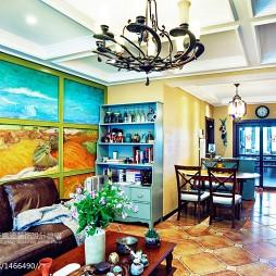东南亚风格客厅设计效果图