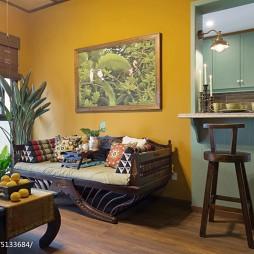 东南亚风格客厅设计案例