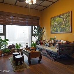 东南亚风格客厅效果图大全