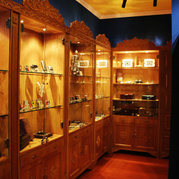 工装俱乐部展示柜设计