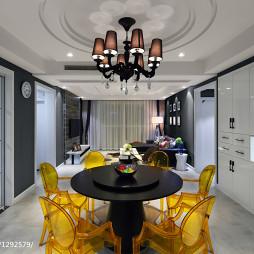 家装现代风格餐厅吊顶效果图