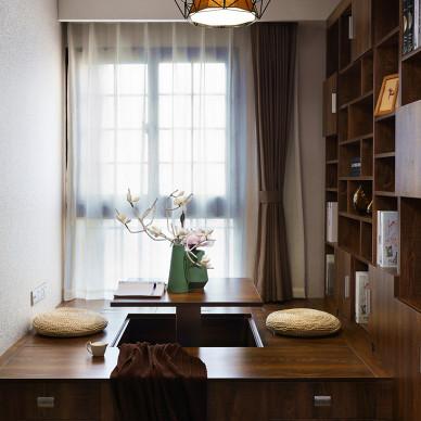简约风格书房装修案例